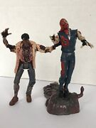 1998 Resident Evil Zombie And Forest Speyer Complete Action Figure Mint Toybiz👍