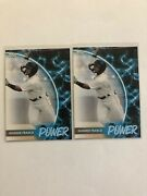 2021 Topps Pro Debut Wander Franco Lot 2 Tc-1 Power Hot Rods Rays Rc