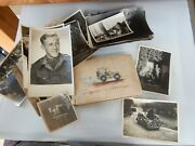 26 Field Intelligence Corps Personal Photos Jeep Album  Ww2 Holland / Germany