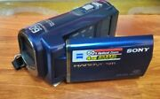 Sony Handycam Dcr-sx40 Carl Zeiss 60x Great Condition Camera W/ Kastar Charger