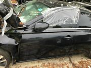 Driver Left Front Door Without Acoustic Glass Fits 19 Altima Black 4177462