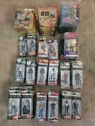 The Walking Dead Action Figure Tv Series Sets 1-8, Comic Series 1 And 3 Comic Con