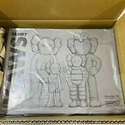 Kaws Family Brown/blue/white Medicom Toy Figure Be@rbrick Tokyo First Limited
