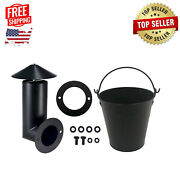 Pellet Grill Smoker Stack Parts For Traeger/pit Boss/z Grills Bbq Accessories