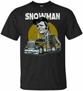 Menand039s Jerry Reed Snowman Menand039s Smokey And The Bandit T-shirts S-5xl