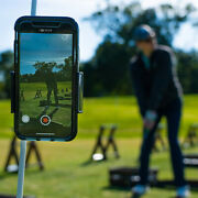 Golf Mobile Phone Holder Mount Shaft Adjustable Clamp For Iphone Phone Us