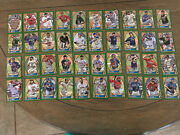 2021 Topps Gypsy Queen Green Sp Parallel 61 Card Lot