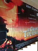 Jean Claude Van Damme The Quest Movie Poster French Billboard 8 Panels 1996