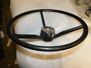 1959 Ford Steering Wheel And Horn Button