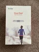 Wellue Visualbeat Real Time Heart Rate Monitor Chest Strap Ekg Ecg New