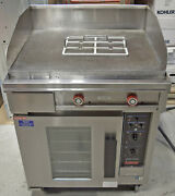 Lang Rt30f-208vcf 30andprime Electric Range With Griddle 3 Phase