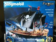 Playmobil Floating Pirate Raiders' Ship 6678 Pirates Series - New In Box