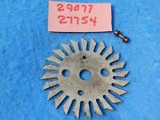 Wurlitzer 1015 1080 1100 1080a Rotary Selector Wheel 29077 And Arm Pin 27754