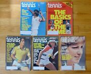 Vintage Tennis Magazine 1978 - Lot Of 5 Issues