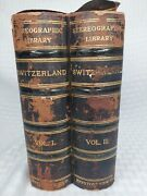 Keystone Stereographic Library. Vo1 - Vol 2 Switzerland 100 Stereoview Cards