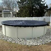 Winter Block Leaf Net For Aboveground Fits 30andrsquo Round Pool Andndash Durable Woven P...
