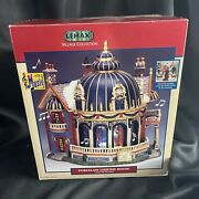 Lemax Village Collection Palace Ballroom Porcelain Lighted And Animated House 2003