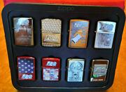 New Snap-on Andtrade Tools Zippo Andreg Lighter 100th Anniversary Collection 8 Lighters