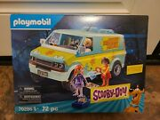 Playmobil Scooby-doo Mystery Machine Building Set 70286 New In Stock