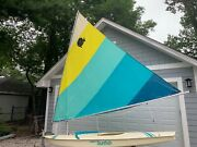 Sunfish Sailboat And Trailer-sold