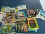 Countryside Magazine 28 Issues + Mother Earth News + Organic Gardening, Etc