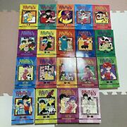 Ranma 1/2 Complete Set Of 19 Manga Books Spines Cut Off