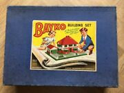Bayko Set 3 From The 1950s Era - Complete Parts - Vintage Box - Vg Condition