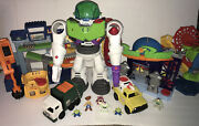 Imaginext Toy Story Landfill, Pizza Planet, Robot, Carnival Playsets And Figures
