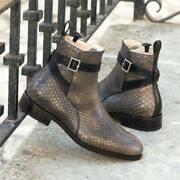 The Python Jodhpur Boot Model 4472 From Robert August W/ Shoe Trees Included