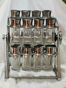 Rotating Carousel Spice Rack 20 Bottles- A Must Have For Any Good Cook
