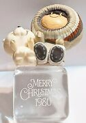 1980 Hallmark Frosty Friends 1 In Series Christmas Ornament Missing Books