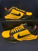 Nike Zoom Kobe V 5 Protro Bruce Lee Yellow Size 16 Deadstock Ds With Box