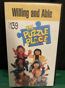 Puzzle Place Willing And Able Vhs Tape 90s Pbs Kids Childrenandrsquos Tv Show Rare
