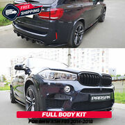 Full Body Aero Kit For Bmw X5 M 2014-2018 F85 M Perfomance Style Tuning New
