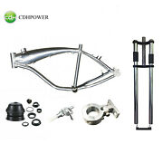 Cdhpower Bicycle Gas Frame 2.4l26 Inch Forkmotor Mountheadset And Petcock