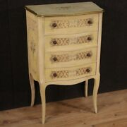 Commode Lacquered Chest Of Drawers Furniture Painted Antique Style Dresser 900