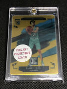 2020-21 Panini Impeccable Stainless Stars Gold 03/10 Lamelo Ball Rookie Hornets