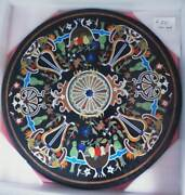 42and039and039 Marble Inlay Table Top Pietra Dura Home Garden Antique Coffee Decor Ow