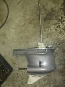 Yamaha 225hp 4 Stroke Outboard Lower Unit With 25 Shaft Damaged Casing