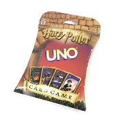Harry Potter Uno Card Game New In Sealed Box Mattel Htf Vintage 2000 Edition