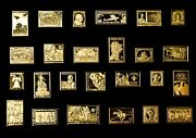 Rare Solid Sterling Silver Ingot Stamps 925/1000 Plated With 24-karat Gold.