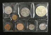 South Africa Coins Mint Set Of 8 Pieces 1976 1/2 Cent - Silver 1 Rand