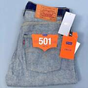 Beams Leviand039s 501 The Inside Out Collection Denim Jeans Rare Unused W33 L32 F/s