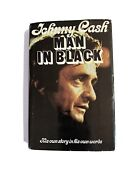 """Signed 1st Edition Man In Black By Johnny Cash """"his Own Story In His Own Words"""""""