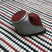 Motorcycle Vintage Hella Rear Taillight Assembly Oem Patina Euro Parts Classic