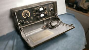 Wwii U.s. Military Army Bc-474 Field Radio Great Condition