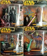 Star Wars Revenge Of The Sith 2005 Deluxe Figures 4 Packs New In Packages