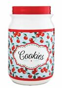 Pavilion Gift Company You And Me By Jessie Steele Ceramic Cookie Jar, 9-inch,...