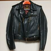 Harley Davidson Real Mccoy's Auth Horsehide Jacket Size 38 Used From Japan
