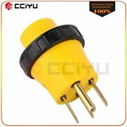 Generator 4-prong Locking 14-50p Male To Rv L5-30r Female Adapter